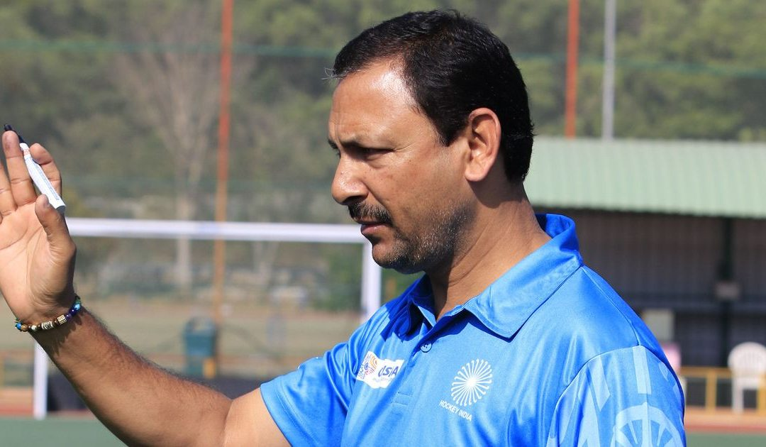 Harendra Singh removed as Indian men's hockey coach.