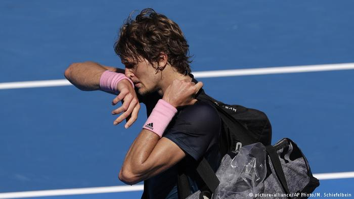 Grand Slam jinx continues for Alexander Zverev