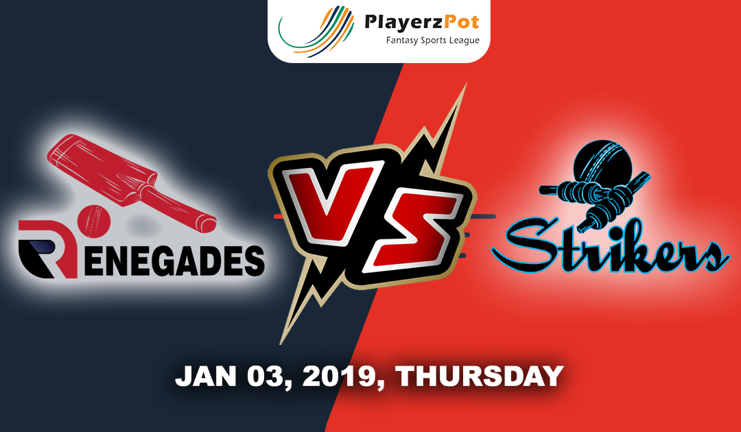 Melbourne Renegades Vs Adelaide Strikers | Match 18 | Big Bash Cricket