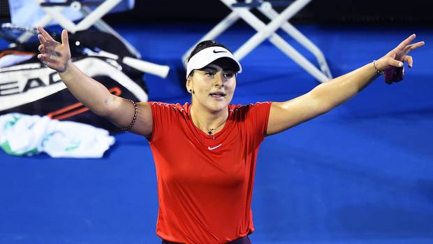 Bianca Andreescu beats Venus Williams at ASB Classic