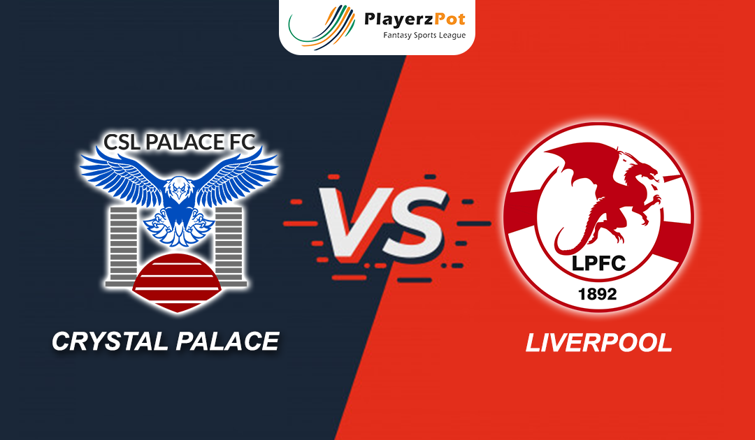 PlayerzPot Football Prediction: Liverpool vs Crystal Palace |