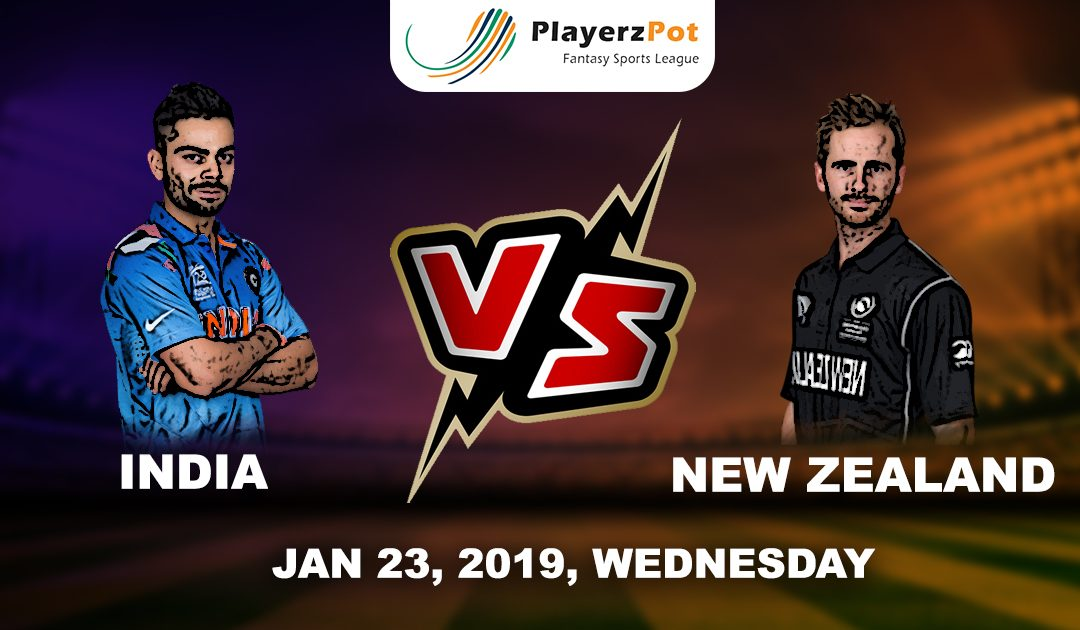 PlayerzPot Cricket Prediction: India vs New Zealand | 1st ODI |