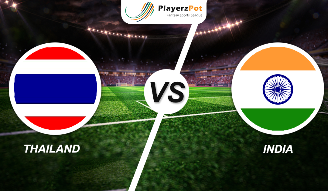 PlayerzPot Football Prediction: India vs Thailand | Asia Cup |