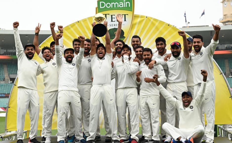 India scripts history with first-ever Test Series in Australia!