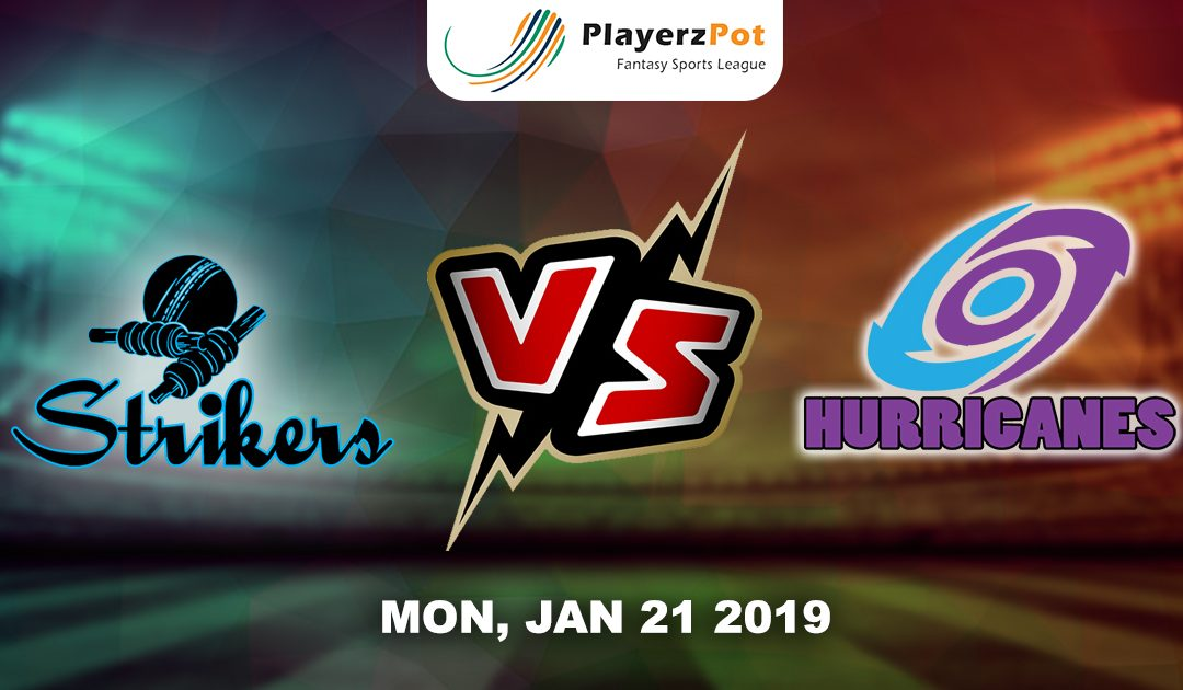 PlayerzPot Cricket Predictions: Adelaide Strikers vs Hobart Hurricanes |Match 37