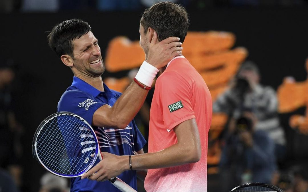 Novak Djokovic overcomes Medvedev challenge to reach to reach the quarter-finals!