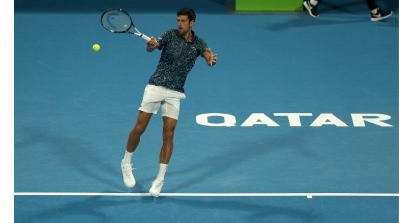 Novak Djokovic marches his way to Qatar Open Semi-Finals