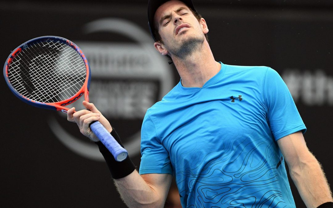 Andy Murray's comeback was halted by Russia's Daniil Medvedev in Brisbane second round