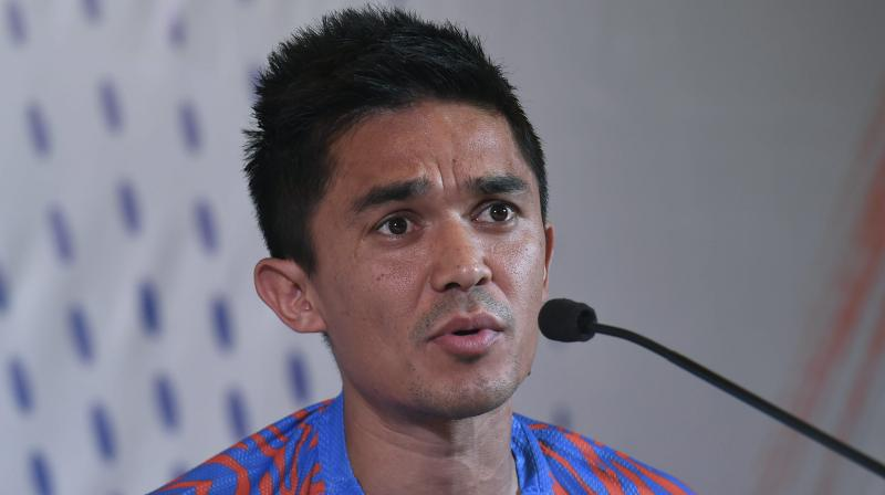 Chhetri says India will be difficult to beat in Asian Cup