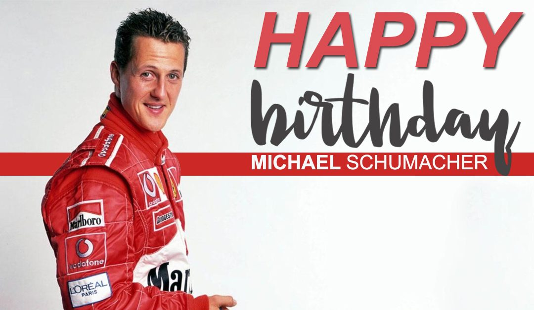 Michael Schumacher, the F1 Legend turns 50!