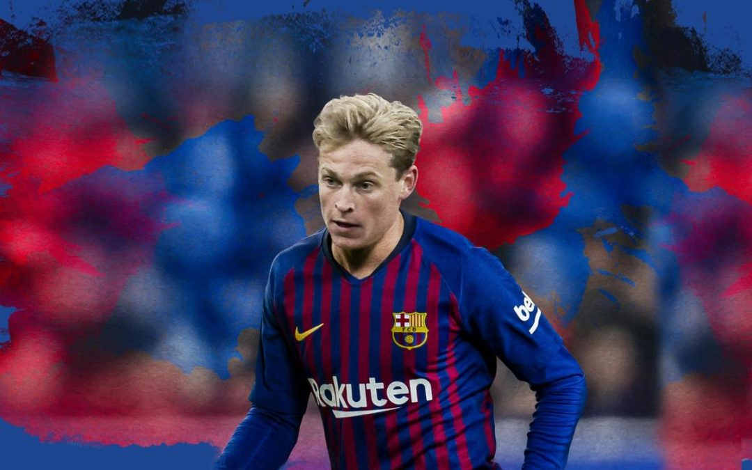 Barcelona signs Ajax's Frenkie de Jong; claims to be in talks with City and PSG.