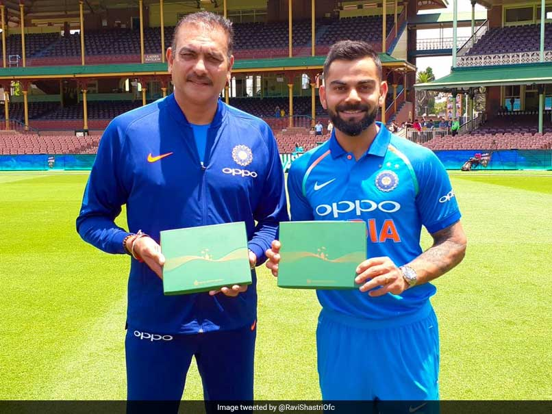 Virat Kohli and Ravi Shastri Receives honorary membership of SCG