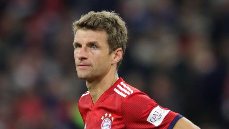Thomas Muller banned for Liverpool Champions League games