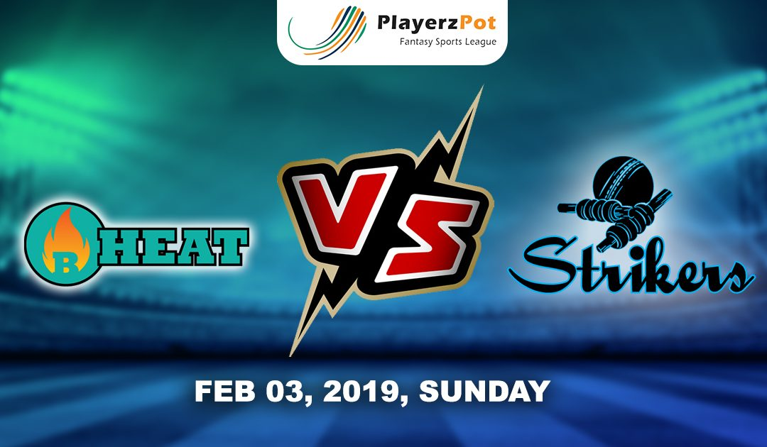 PlayerzPot Cricket Prediction: Brisbane Heat vs Adelaide strikers| Match 50
