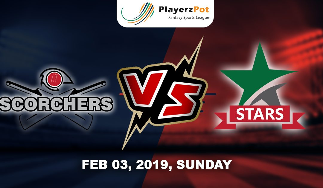PlayerzPot Cricket Prediction: Melbourne Stars vs Perth Scorchers|  Match 51