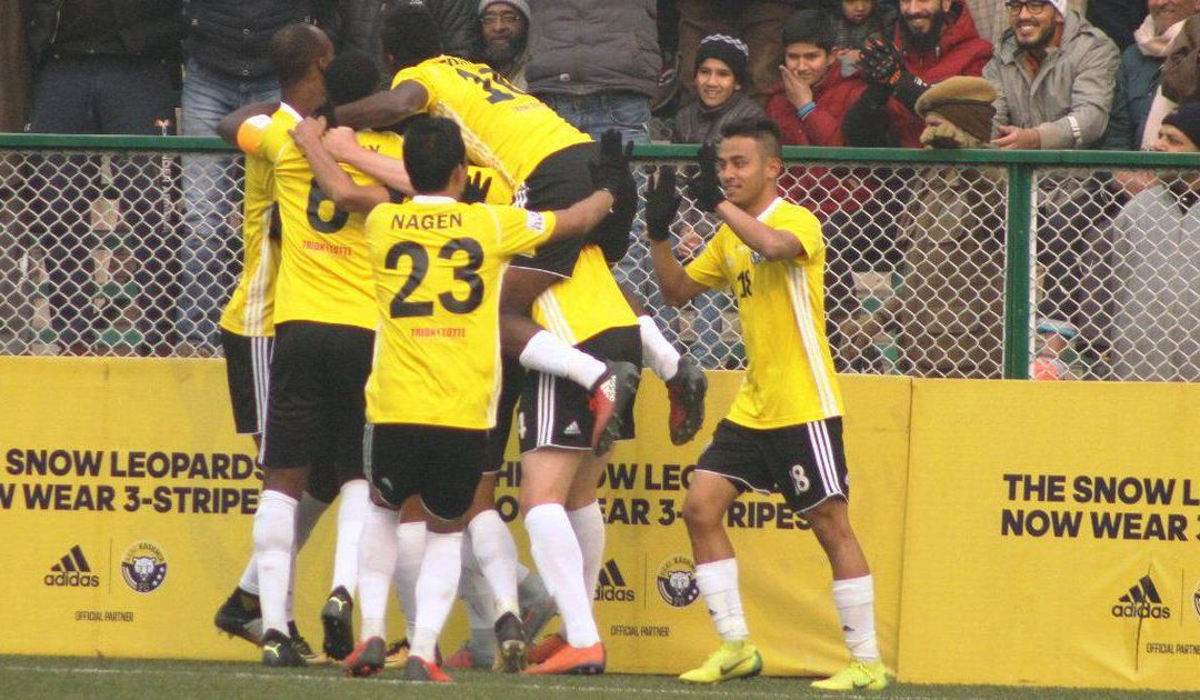 Real Kashmir FC on the top of the I-League; beats Gokulam Kerala FC