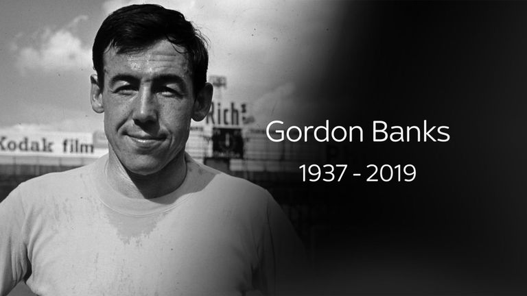 England world cup –winner Gordon Banks dies at the age of 81