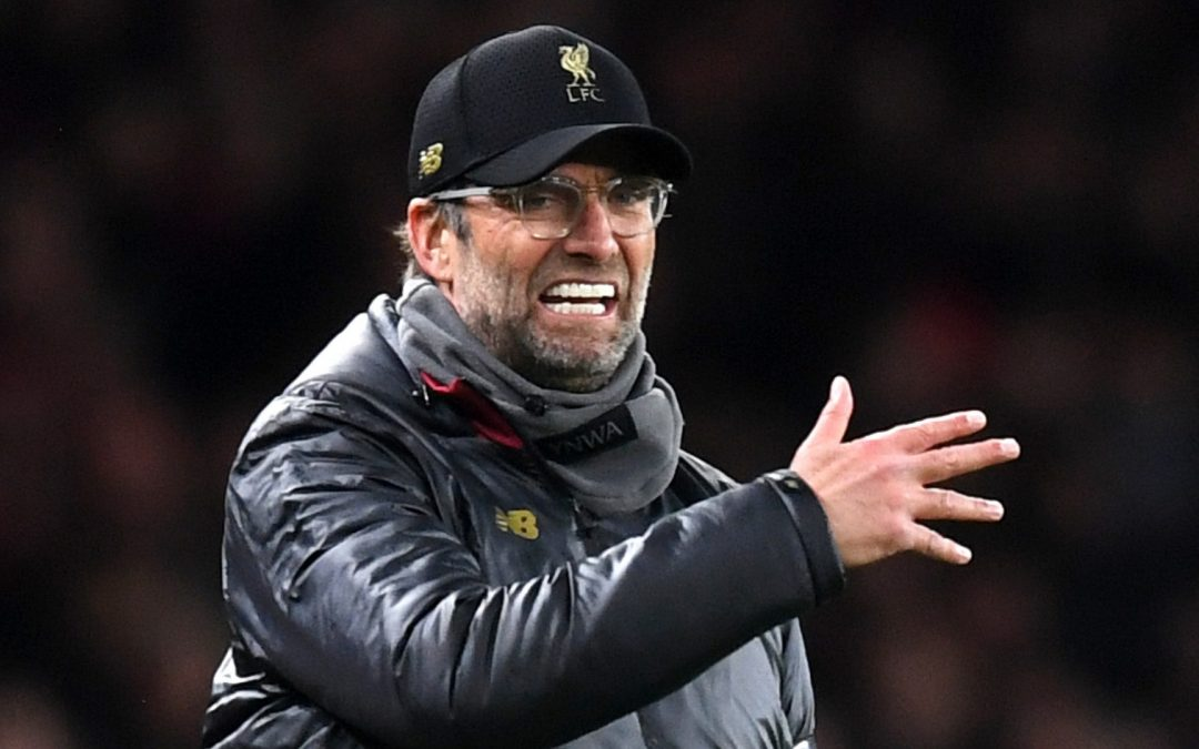Klopp fined by FA for referee comments after West Ham draw