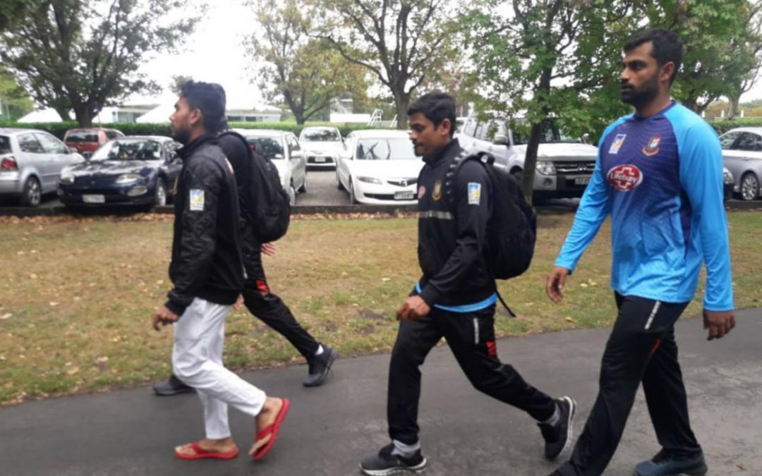 Bangladesh team escapes shooting in Christchurch