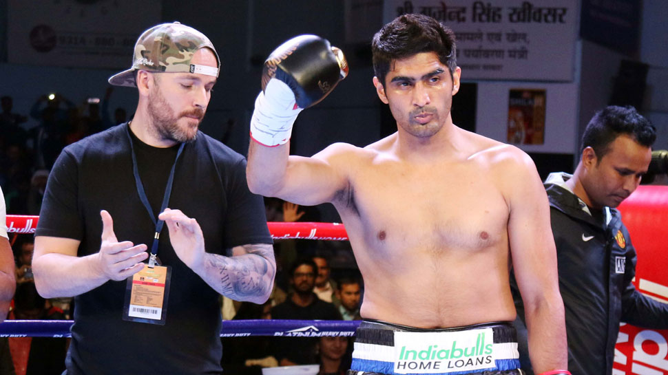 Vijender Singh set for US debut; starts training under Hall of Famer Freddie Roach