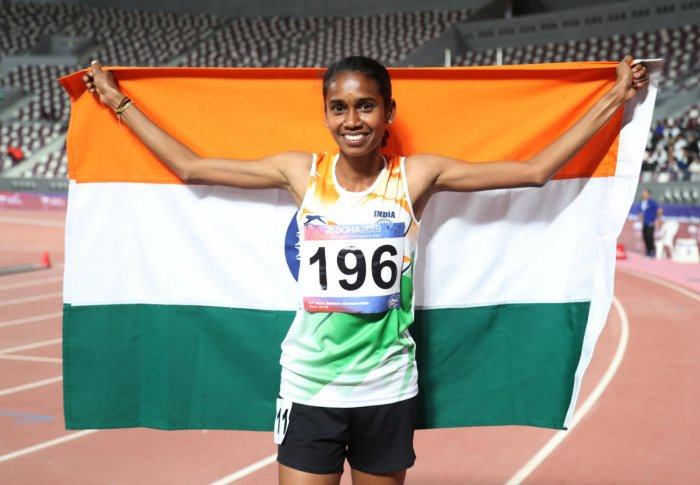 Asian Athletics Championship: PU Chitra clinches third gold for India.
