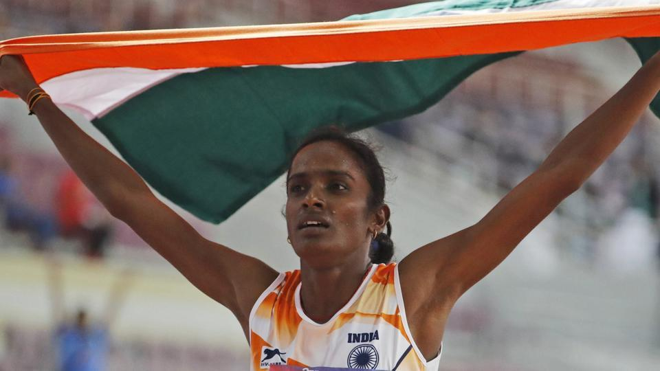 Asian athletics championship 2019: Gomathi and Toor bags gold for India.