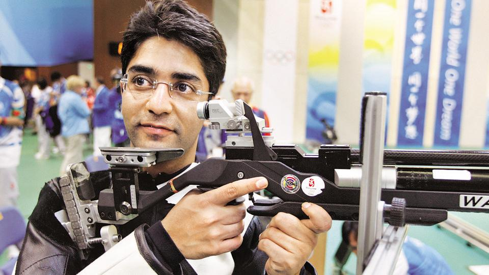 Abhinav Bindra Launches hi-tech performance management center in Pune.