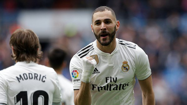 Zidane sheds words of praise for Benzema; hails as World'Best.