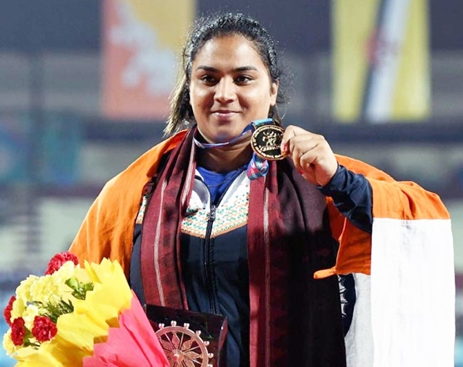 Champion shot putter Manpreet Kaur banned for 4 years for dope flunk.