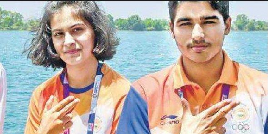 Manu Bhaker and Saurabh Chaudhary win India's second gold at ISSF World Cup.