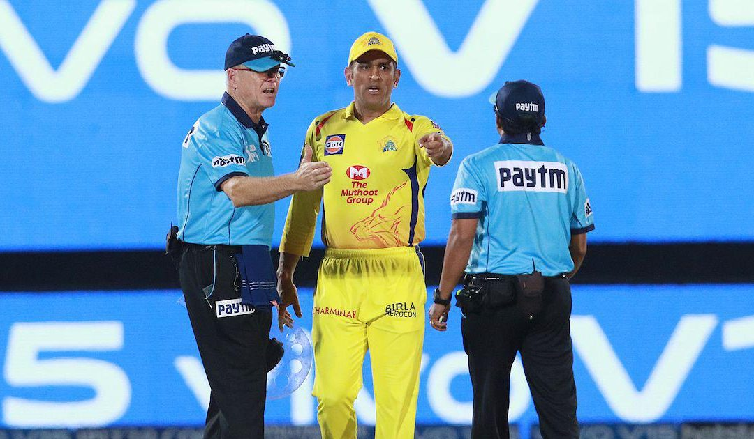 MS Dhoni fined for fierce argument with umpires after no-ball controversy