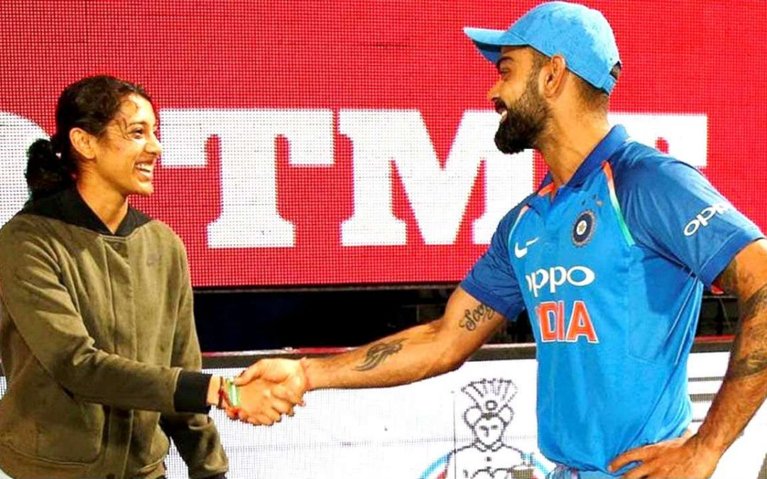 Kohli and Smriti Mandhana named Wisden's Leading Cricketers!