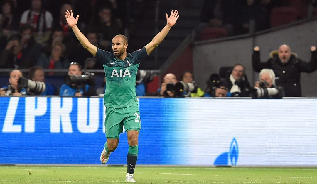 Tottenham into Champions League final as Lucas breaks Ajax hearts