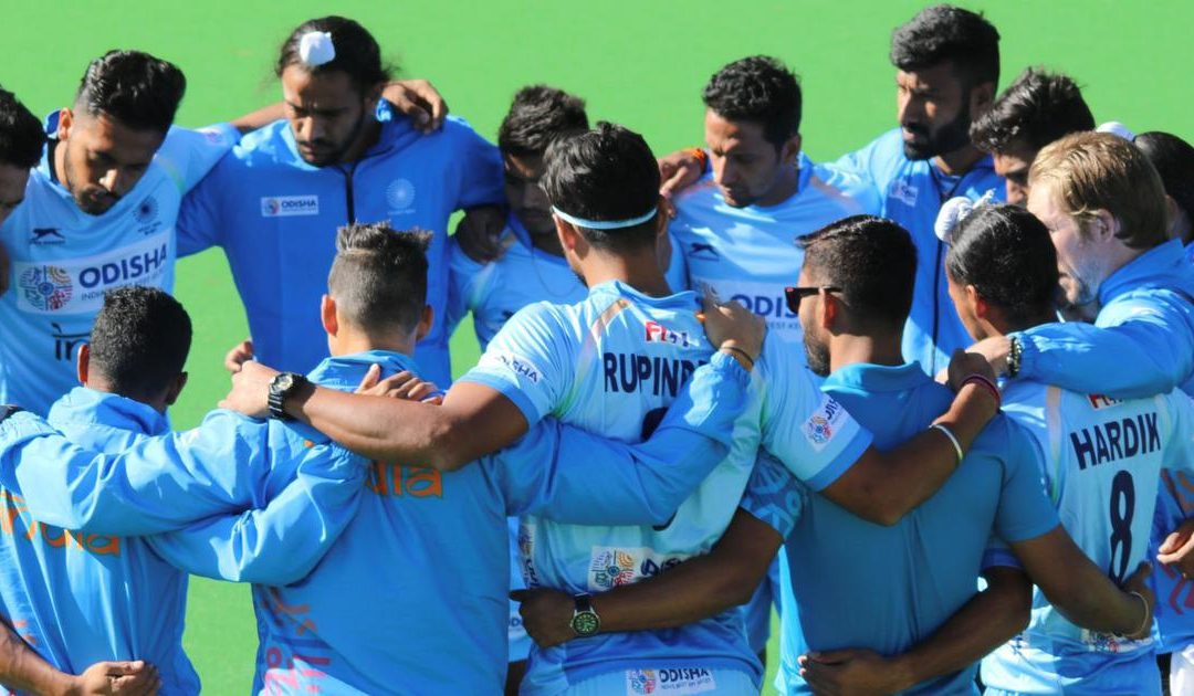 Indian men's hockey team wins 3-0 against Australia A