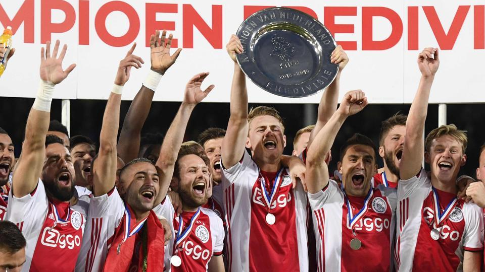 Ajax win Dutch League title for the 34th time