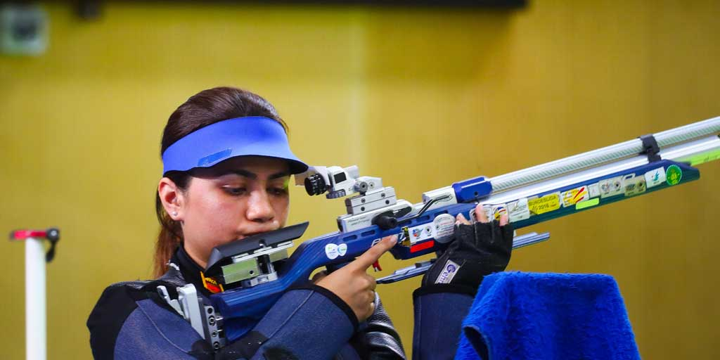 Apurvi Chandela is World No 1 in 10m Air Rifle ISSF rankings