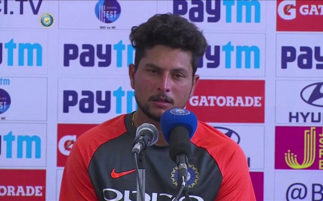 India spinner Kuldeep Yadav cleared the air about his comments on MS Dhoni