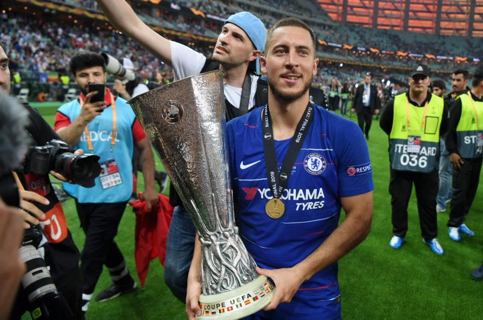 Hazard's brilliance led Chelsea to thrash Arsenal to win Europa League