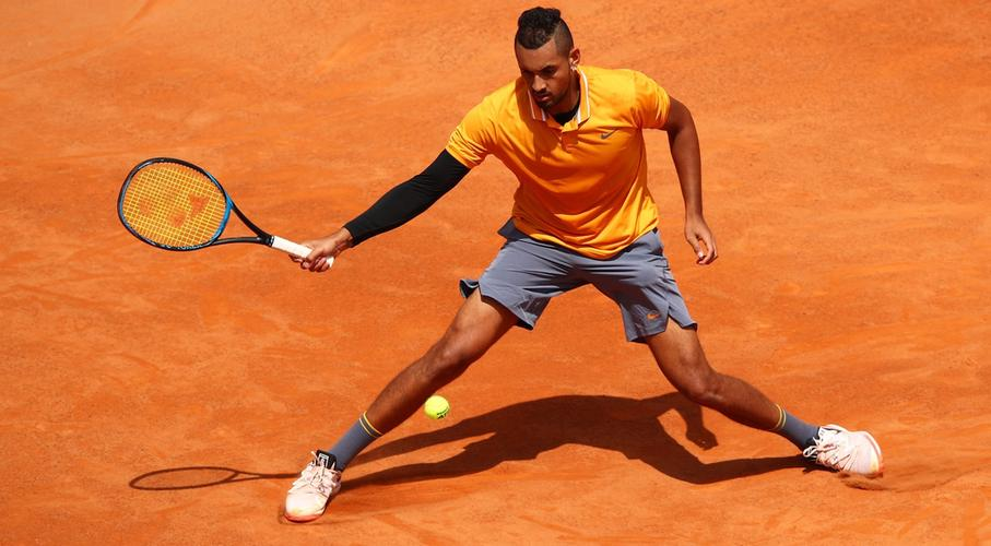 Nick Kyrgios disqualified after tantrum at the Italian Open!