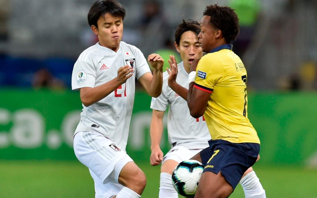 Draw sees both Japan and Ecuador exit Copa America