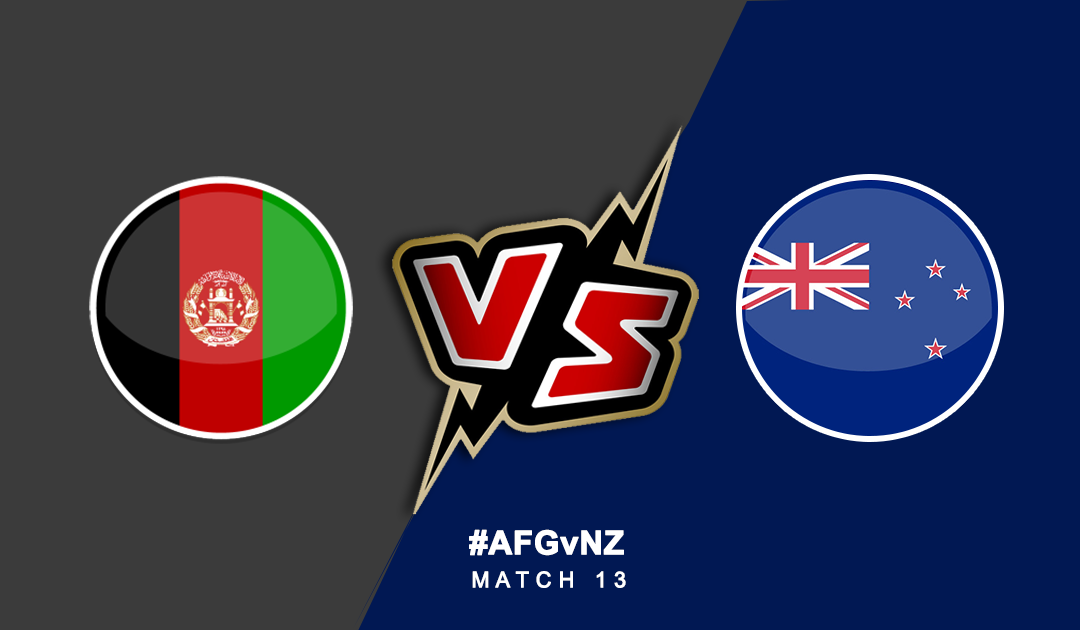 World Cup 2019: Afghanistan Vs New Zealand | PlayerzPot Prediction