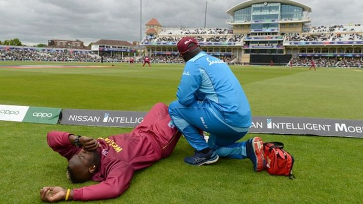 Windies all-rounder Andre Russell ruled out of the tournament.