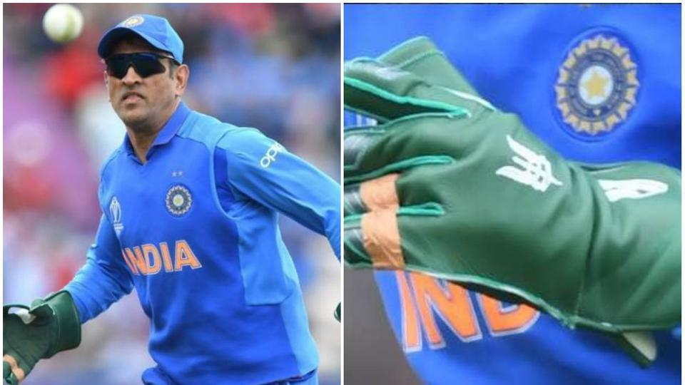 BCCI backs MS Dhoni over Army Crest on gloves