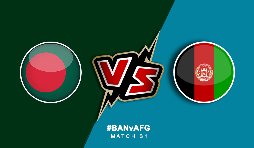 World Cup 2019: Bangladesh vs Afghanistan | PlayerzPot Prediction
