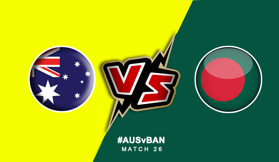 World Cup 2019: Australia Vs Bangladesh | PlayerzPot Prediction