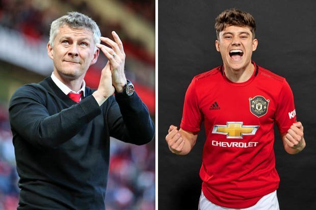 Manchester United completed the £15m signing of Daniel James.
