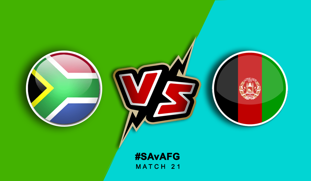 World Cup 2019: South Africa vs Afghanistan | PlayerzPot Prediction