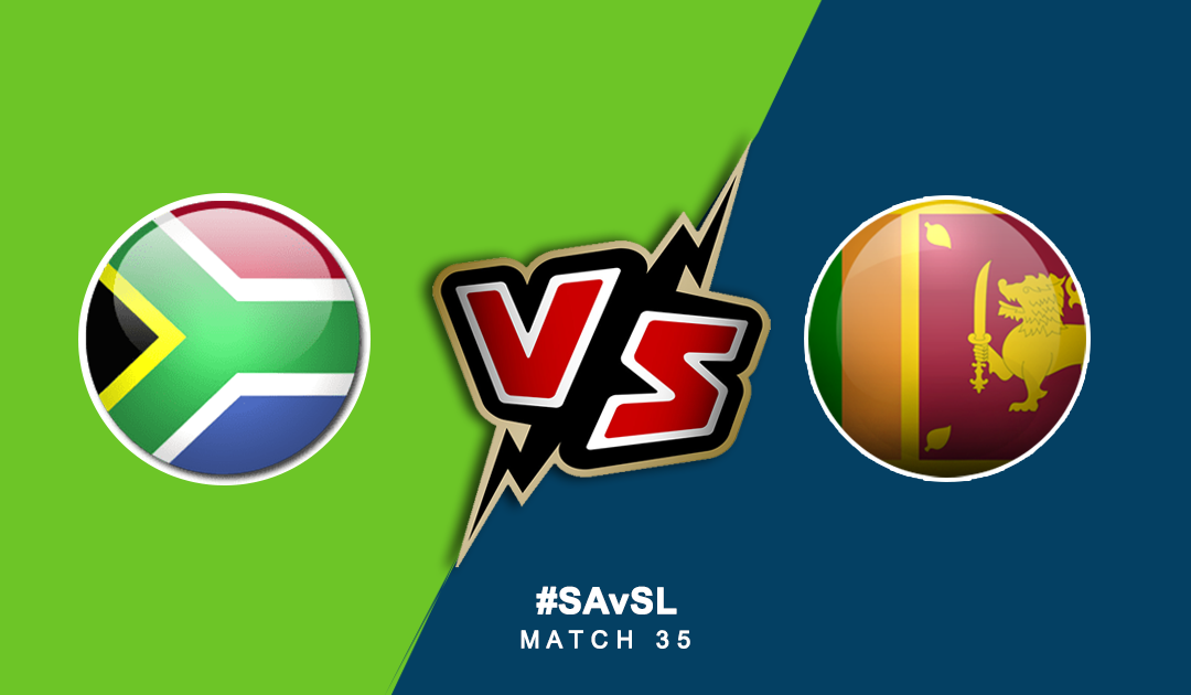 World Cup 2019: South Africa Vs Sri Lanka | PlayerzPot Prediction