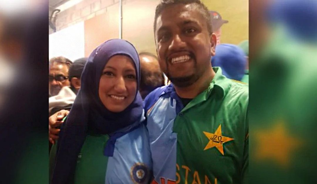 "Indian-Pakistani Couple support ""Peace"" over India and Pakistan!"