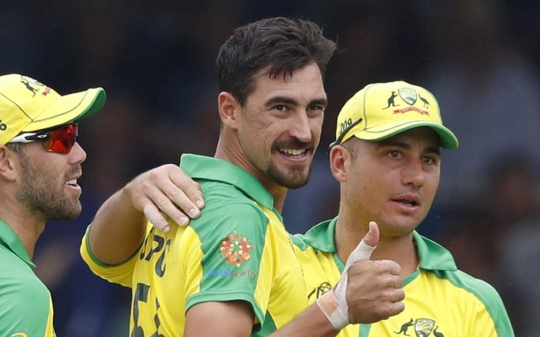 Some mock for an English fan, fires up Starc!